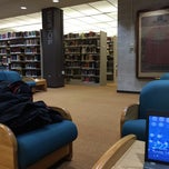 Photo taken at WPI Gordon Library by Dimitar V. on 2/15/2015