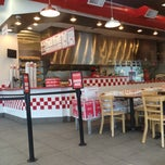 Photo taken at Five Guys by Joseph V. on 7/2/2013