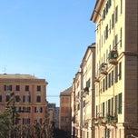Photo taken at Piazza Paolo da Novi by C D. on 3/29/2015