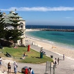 Photo taken at Cottesloe Beach by Michael K. on 3/12/2012