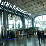 "Photo taken at Aeroporto di Roma Fiumicino ""Leonardo da Vinci"" (FCO) by Alessio C. on 8/7/2013"