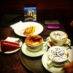 Photo taken at Caffè Nero by Ajeet P. on 1/4/2013