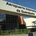 Photo taken at Aeropuerto Internacional de Guanajuato (BJX) by Bto M. on 5/22/2013