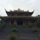 Photo taken at Thiền Viện Trúc Lâm Bạch Mã by Loan T. on 3/24/2014