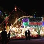 Photo taken at Christmas Light Display (christmasdisplay.org) by Renee L. on 12/26/2014