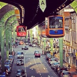 Photo taken at Schwebebahn-Express by Annis L. on 1/3/2014