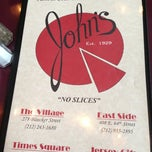 Photo taken at John's Pizzeria by David D. on 11/30/2012