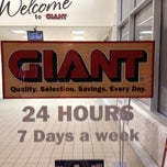 Photo taken at Giant by C.J. D. on 10/17/2011
