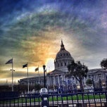 Photo taken at Civic Center Plaza by Ivan R. on 11/4/2013