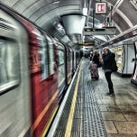Photo taken at Oxford Circus London Underground Station by Bal B. on 3/14/2013
