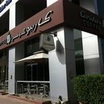 Photo taken at Caribou Coffee by Meem A. on 4/1/2013
