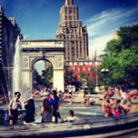 Photo taken at Washington Square Park by Peter E. on 5/31/2013