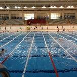 Photo taken at 29 Ekim Olimpik Yüzme Havuzu by Umut Y. on 5/31/2013