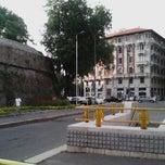 Photo taken at Metro Porta Romana (M3) by Aira on 6/6/2013