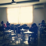 Photo taken at Universitas Prima Indonesia ( kampus II ) by Amelia l. on 6/12/2013