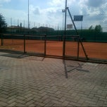 Photo taken at Tennis Club Peseggia by Giancarlo T. on 5/8/2013