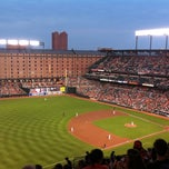 Photo taken at Oriole Park at Camden Yards by Derek A. on 7/10/2013