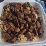 Photo taken at Hibachi Express by Malcolm T. on 7/12/2014