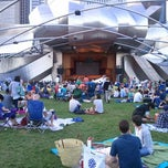 Photo taken at Jay Pritzker Pavilion by Stephen R. on 7/14/2013