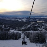Photo taken at Whitefish Mountain Resort by Dan H. on 1/8/2013