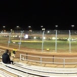 Photo taken at The Dirt Track at Charlotte Motor Speedway by Greg M. on 11/1/2012