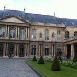 Photo taken at Archives Nationales by Etienne C. on 5/26/2013