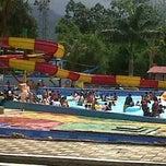 Photo taken at Minang Fantasy Waterpark by Erna R. on 4/28/2013