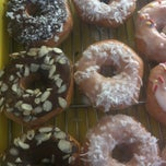 Photo taken at Laurel Tavern Donuts by Paul R. on 4/19/2013