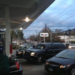 Photo taken at Mobil by Steve P. on 11/2/2012