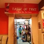 Photo taken at Taste of Tibet by Sandeep S. on 5/22/2013