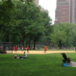 Photo taken at Heckscher Field by Luana B. on 6/16/2013