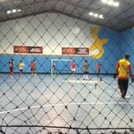 Photo taken at Futsal 35 by Siagian R. on 11/28/2013