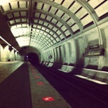 Photo taken at Fort Totten Metro Station by Jason S. on 4/11/2013