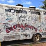 Photo taken at Giovanni's Shrimp Truck by Kathleen K. on 6/1/2013