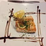 Photo taken at Aurora Ristorante, Pizzeria by Caba V. on 7/27/2014