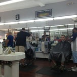 Photo taken at Dentes Barber Shop by Bob H. on 8/24/2013
