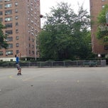Photo taken at Queensview Basketball Courts by Forrest on 8/12/2014