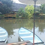 Photo taken at Saung Talaga by Agung P. on 7/16/2013