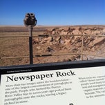 Photo taken at Newspaper Rock by Melissa F. on 12/23/2012