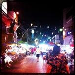 Photo taken at ถนนคนเดินเชียงราย (Chiang Rai Walking Street) by Kamonrat P. on 12/1/2012