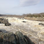 Photo taken at Great Falls Park by Megan L. on 3/15/2013