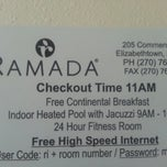Photo taken at Ramada by Tim C. on 9/13/2013