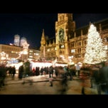 Photo taken at Christkindlmarkt by Helen S. on 12/19/2012