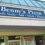 Photo taken at Benny's Pizza by CallHerGabbs on 7/5/2013