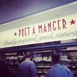 Photo taken at Pret A Manger by Tish V. on 5/3/2013