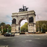 Photo taken at Grand Army Plaza by Marco M. on 5/6/2013