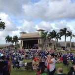 Photo taken at Sunset Cove Amphitheater by Nelson H. on 7/4/2013