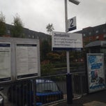 Photo taken at Jordanhill Railway Station (JOR) by Paul C. on 9/21/2013