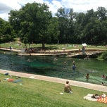 Photo taken at Barton Springs Pool by Jacob P. on 6/1/2013