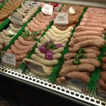 Photo taken at Mackenthuns Meat & Deli by Mike E. on 11/12/2012
